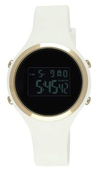 Moulin Ladies Digital Jelly Watch Dark Screen White