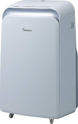 Impecca IPAH12-KS 12,000 BTU Heat & Cool Portable Air Conditioner with Electronic Controls