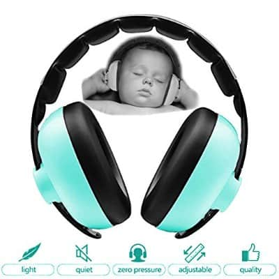 Zoom Time Baby Toddler Safety Noise Cancelling Ear Protection Headphones