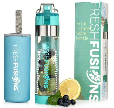 Fresh Fusions Fruit Infuser Water Bottle