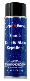 Apple Brand Garde Rain & Stain Water Repellent Conditioner, Cleaner Protector Aerosol