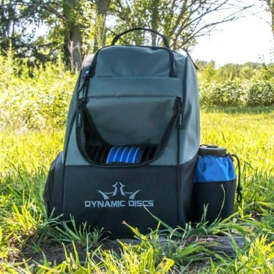 Dynamic Discs Trooper Disc Golf Bag - Fits Up to 18+ Discs and Four Putters