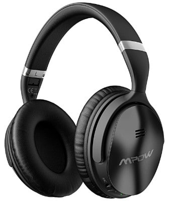 Mpow H5 Active Noise Cancelling Headphones, ANC Over Ear Wireless Bluetooth Headphones