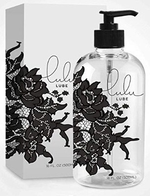 Personal Lubricant. Lulu Lube Natural Water-Based Lubes for Men and Women