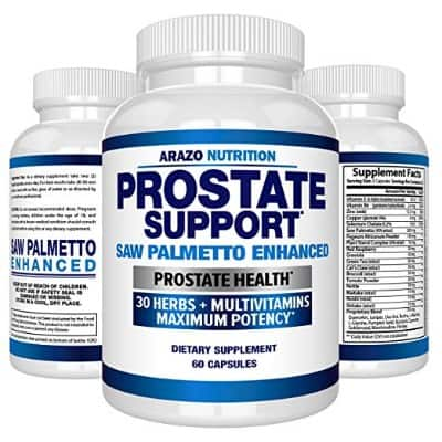 Prostate Supplement - Saw Palmetto + 30 Herbs