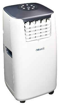 NewAir AC-14100H 14,000 BTU Portable Air Conditioner Plus Heater with Energy Efficiency Boosting