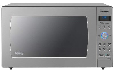 Panasonic Microwave Oven NN-SD975S Stainless Steel Countertop:Built-In Cyclonic Wave