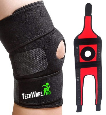 TechWare Pro Knee Brace Support - Relieves ACL, LCL, MCL