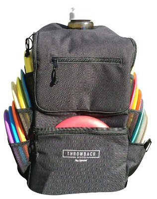 Throwback All Day Pack - Disc Golf Backpack with Oversize Cooler Built-in