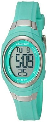 Armitron Sport Women's 45:7034 Digital Chronograph Resin Strap Watch