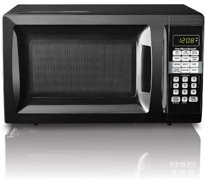 Child-Safe Lockout Feature | Hamilton Beach 0.7 cu ft Microwave Oven