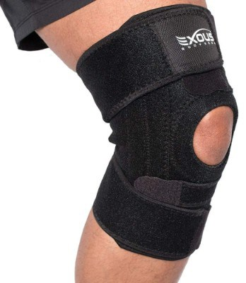 EXOUS Knee Brace Support Protector - Relieves Patella Tendonitis - ACL