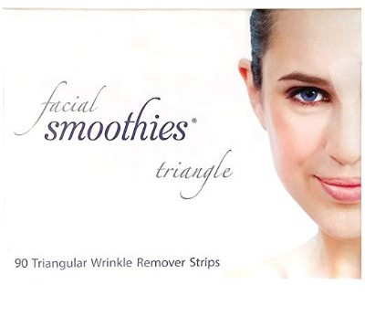 Facial Smoothies TRIANGLE Anti Wrinkle Strips:Anti-Wrinkle Patches