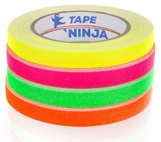 Professional Grade NEON Spike Tape by Tape Ninja - Made in the USA