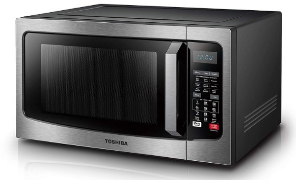 Toshiba EC042A5C-SS Microwave Oven with Convection Function Smart Sensor and LED Lighting