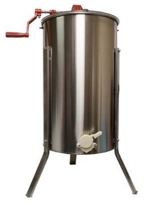 Harvest Lane 2-Frame Honey Metal Extractor, Stainless Steel