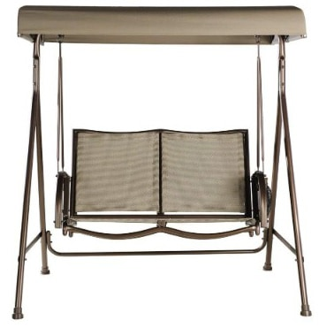 Abba Patio Outdoor Swing Canopy Hammock 2 Seat Porch Furniture
