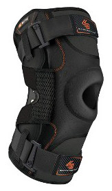 Hinged Knee Brace- Shock Doctor Maximum Support Compression Knee Brace - For ACL:PCL Injuries