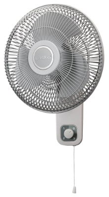Lasko 12 Oscillating Wallmount Fan