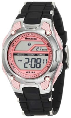 Armitron Sport Women's 45:6984 Digital Chronograph Resin Strap Watch