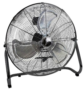 Deco Breeze High Velocity Floor Fan - Industrial Strength Fan