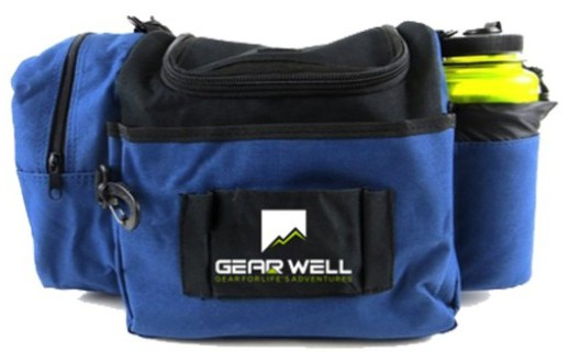 Gear Well Extra Rounds Disc Bag - 12 Disc Lightweight and Durable