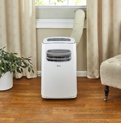 Midea EasyCool 3-In-1 Portable Air Conditioner with Dehumidifier and Fan Functions