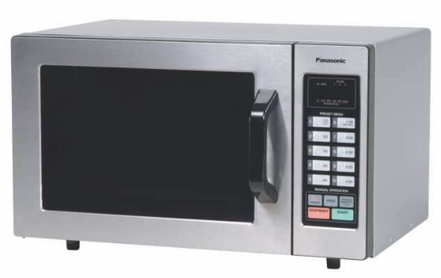 Panasonic Countertop Commercial Microwave Oven NE-1054F Stainless Steel