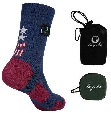 Layeba 100% Waterproof Breathable Socks