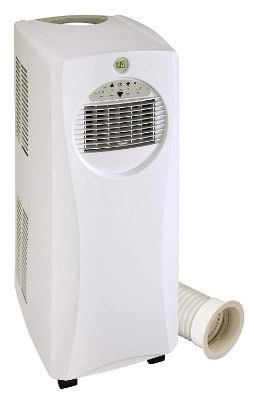 SPT Slimline 10,000BTU Portable AC with Heater
