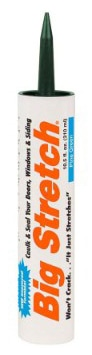 Sashco Big Stretch Acrylic Latex High Performance Caulking Sealant, 10.5 Ounce Cartridge
