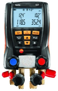 Testo 557 Refrigeration System Analyzer