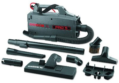 Oreck Commercial BB900DGR XL Pro 5 Super Compact Canister Vacuum, 30'