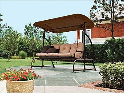 Garden Winds LCM650B Walmart's Sand Dune 3-Seater Swing, Brown Replacement
