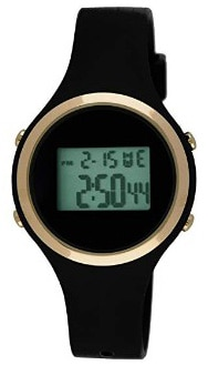 Moulin Ladies Digital Jelly Watch Black