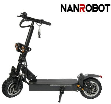 NANROBOT RS2 11 2400W Motor Powerful Adult Electric Scooter