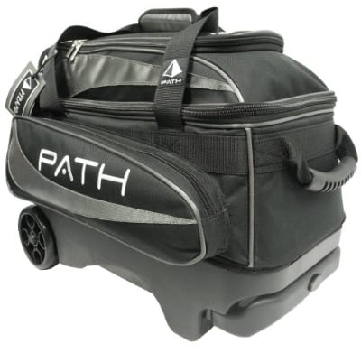 Pyramid Path Premium Deluxe Double Roller Bowling Bag