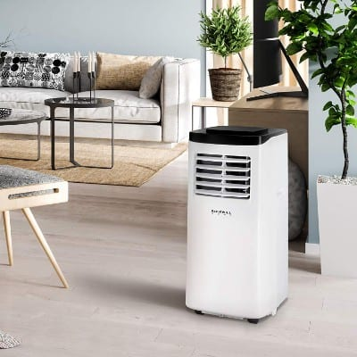 Rosewill Portable Air Conditioner 8000 BTU, AC Fan & Dehumidifier 3-in-1 Cool:Fan:Dehumidify