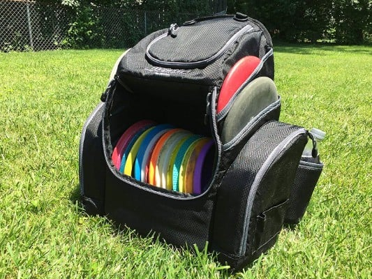 The Throwback Pack 2.0 - Disc Golf Backpack with Dual Coolers