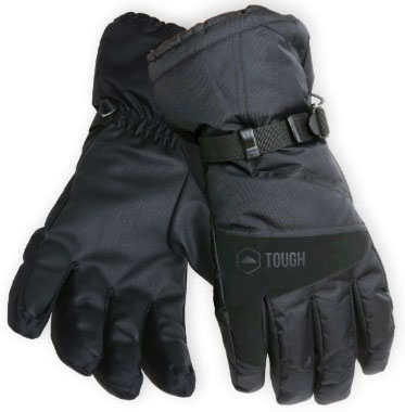 Winter Ski & Snowboard Gloves with Wrist Leashes - Waterproof & Windproof