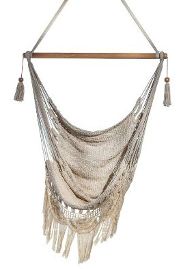 Handmade Hanging Rope Hammock Chair