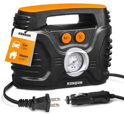 Kensun AC:DC Power Supply Portable Air Compressor Pump