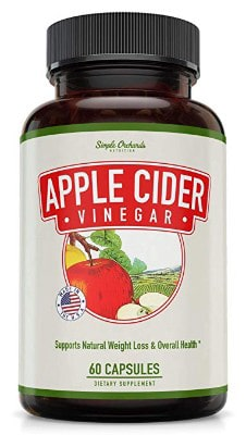 Apple Cider Vinegar Pills - Appetite Suppressant Capsules