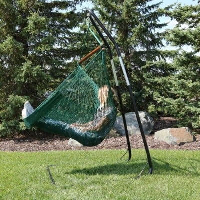 Sunnydaze Hanging Rope Hammock Chair