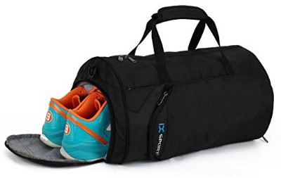 INOXTO Fitness Sport Small Gym Bag with Shoes Compartment Waterproof Travel Duffel Bag