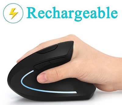 Ergonomic Mouse, Vertical Wireless Mouse