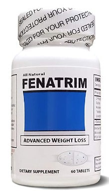 FENATRIM Weight Loss Diet Pills (One Bottle | 60 Oval Tablets)- Appetite Suppressant