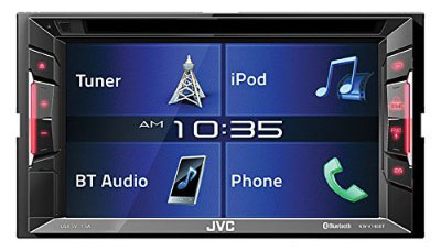 Jvc KWV140BT Double Din Bt in-Dash DVD:cd:am:fm Car Stereo W:6.2 Touchscreen