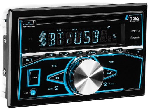 BOSS Audio 850BRGB Car Stereo - Double Din