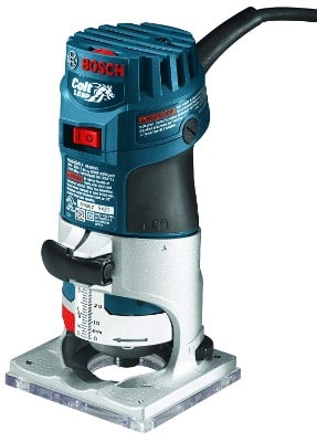 Bosch Colt 1-Horsepower 5.6 Amp Electronic Variable-Speed Palm Router PR20EVS